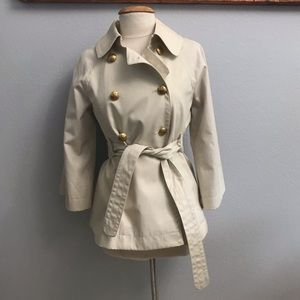 J.Crew trench coat. Brand New with Tags